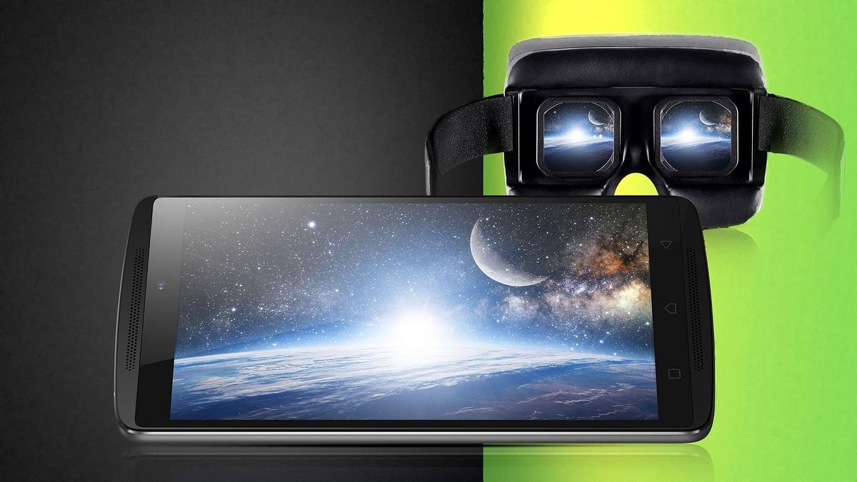 Lenovo Vibe K4 Note along withLenovo Virtual Reality (VR) technology. (Photo: Lenovo)