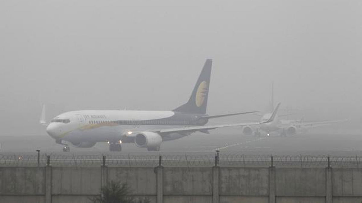 Flights Delayed at Delhi Airport as Dense Fog Envelopes City