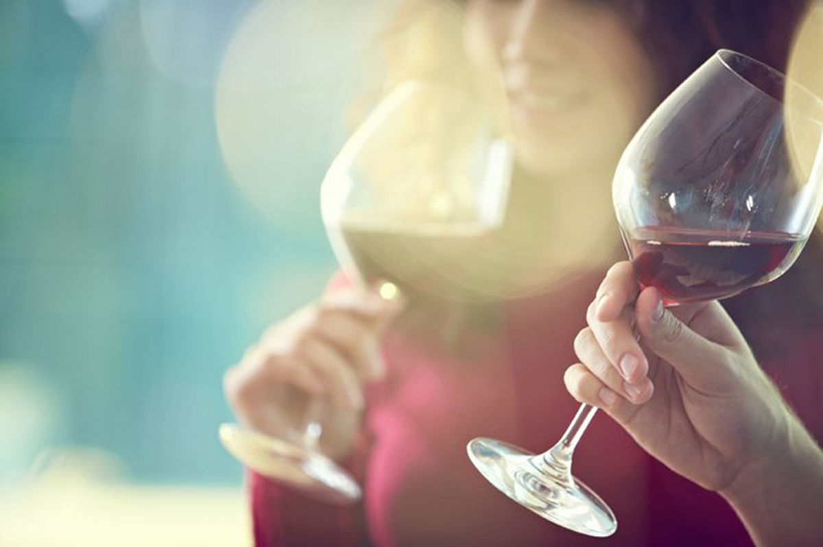 Wine is the secret to preventing fine lines on your face! (Photo: iStockphoto)