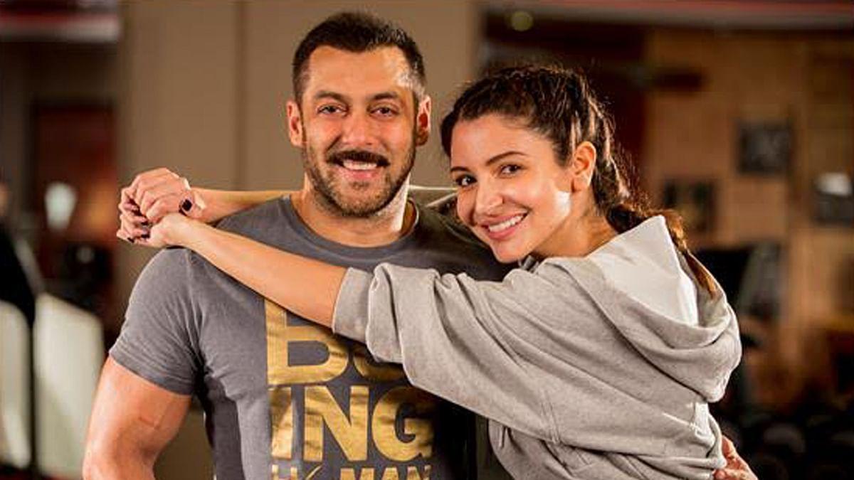 Salman Khan and Anushka Sharma confirmed their pairing for <i>Sultan</i> via Twitter recently (Photo: Yashraj Films)