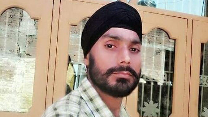 Ikagar Singh of Kathana village near the India-Pakistan border, who was brutally killed by the terrorists on the night of December 31 before they attacked the IAF air base in Pathankot.(Photo: Chandan Nandy)