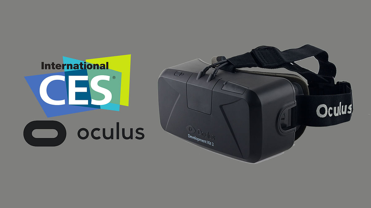 Oculus Rift VR Headset will be available for pre-order starting January 6, 2016. (Photo: <b>The Quint</b>)