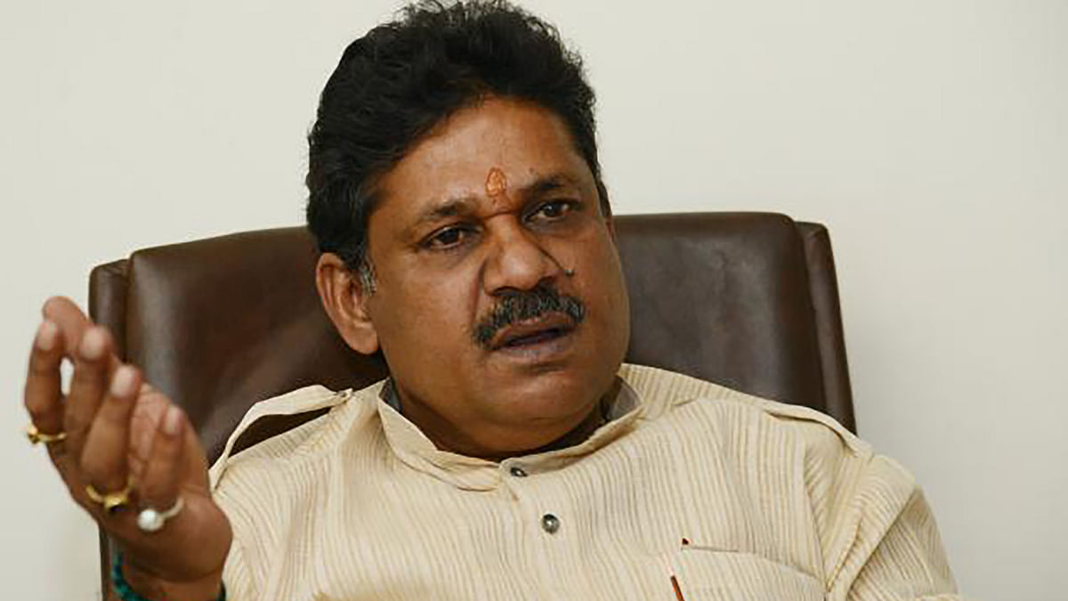 Former cricketer and BJP member Kirti Azad at a press conference against DDCA, December 2015. (Photo: PTI)