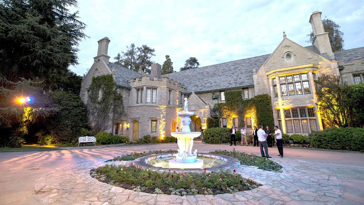 The Playboy mansion. (Photo: Reuters)