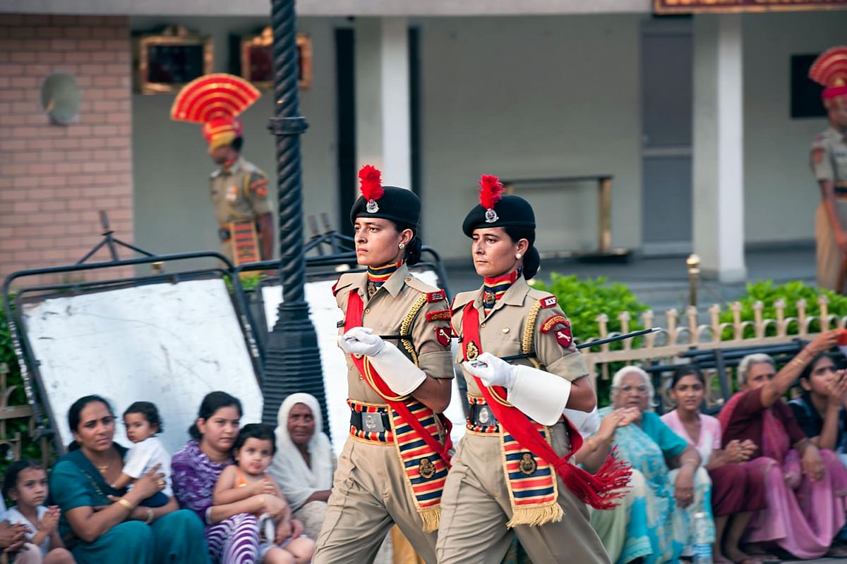 Undated picture of women officers of Border Security Force. (Photo: iStockphoto)