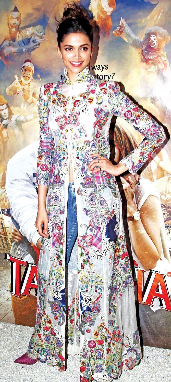 "Deepika Padukone personifies comfortable quirky styling (Photo: <a href=""https://in.pinterest.com/pin/415597871843494675/"">Pinterest/DipakShah</a>)"