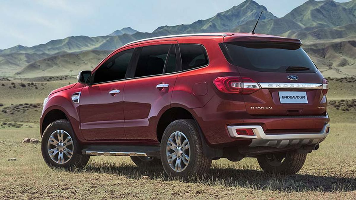 """Ford Endeavour from the back. (Photo Courtesy: <a href=""""http://www.india.ford.com/suvs/endeavour"""">Ford India</a>)"""