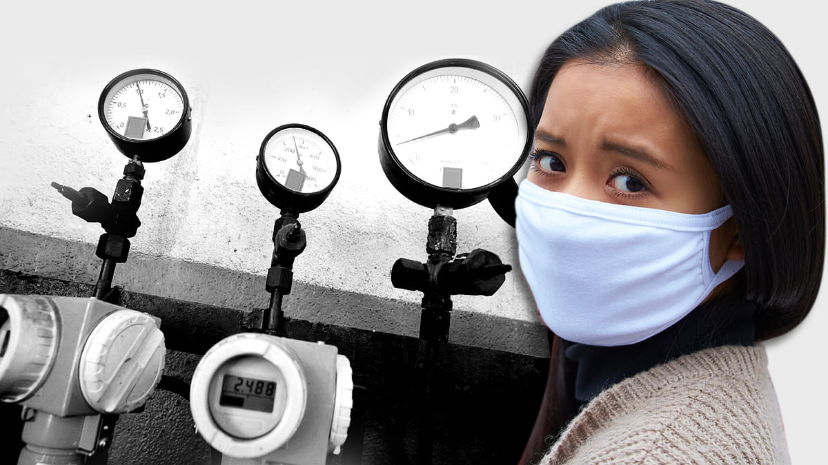One of the biggest spinoffs of the odd-even experiment in the capital is that it has made people aware of air pollution. (Photo: <b>The Quint</b>)