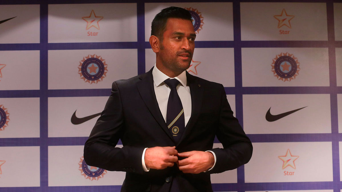 Indian skipper MS Dhoni spoke to the media before leaving for the tour of Australia. (Photo: AP)