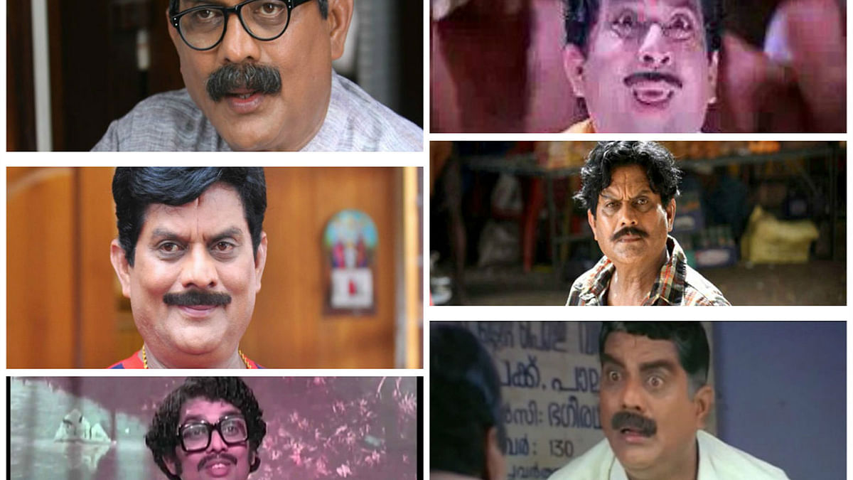 Jagathy Sreekumar has played many roles, and regaled audiences with his humour. (Photo courtesy: TheNewsMinute)