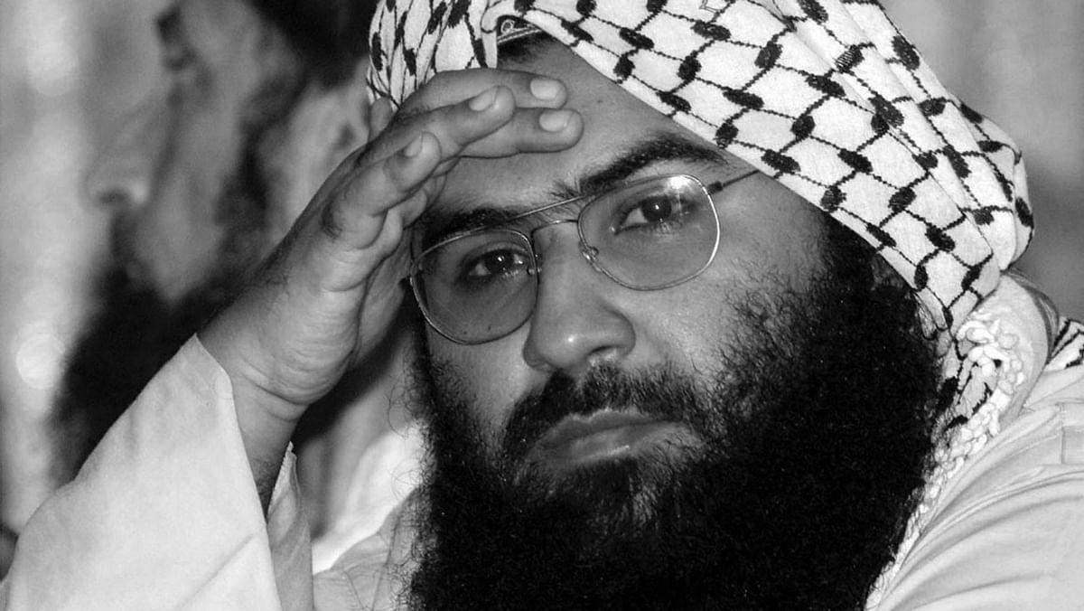 File photo of Maulana Masood Azhar, chief of Jaish-e-Mohammad. (Photo: Reuters)