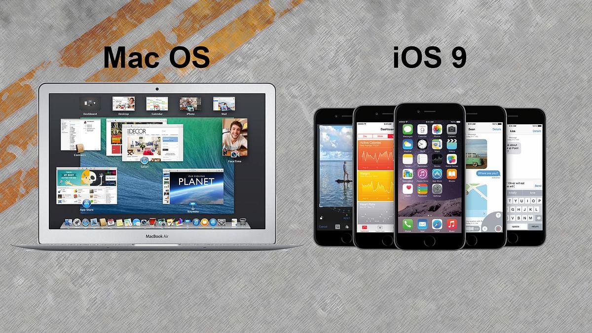 Mac OS vs iOS. (Photo: <b>The Quint</b>)
