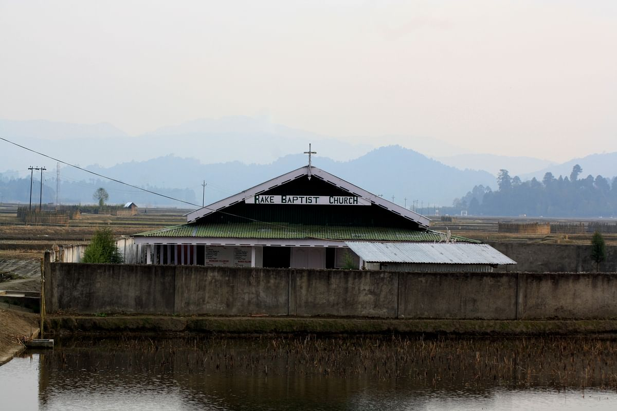 The church in Ziro. (Photo Courtesy: Kushal Chowdhury)