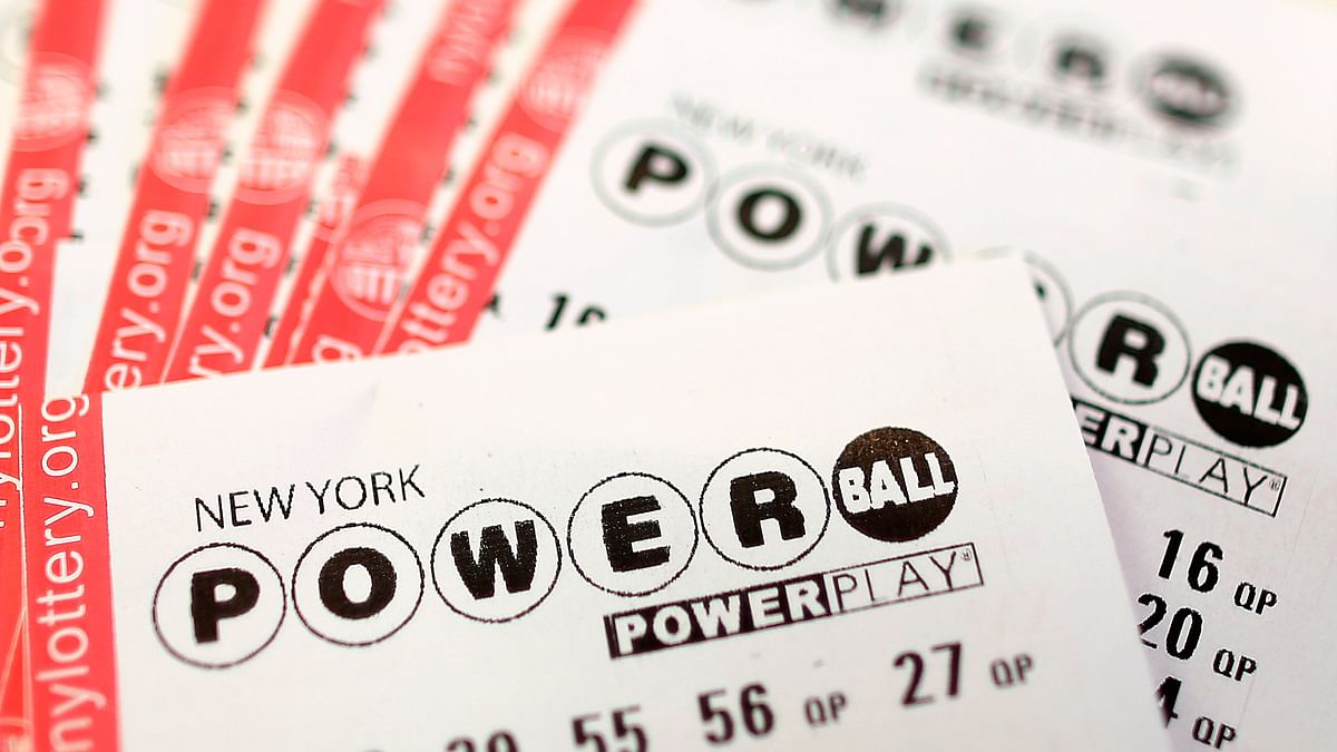 Powerball lottery tickets. (Photo: Reuters)