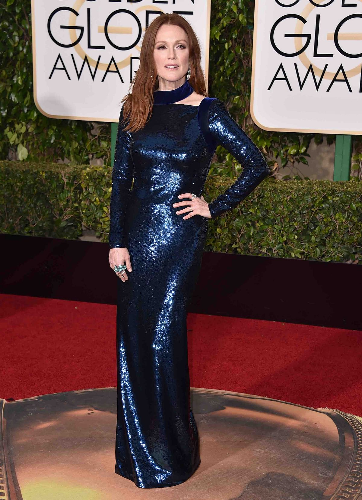 Julianne Moore in a Tom Ford number(Photo: APT)