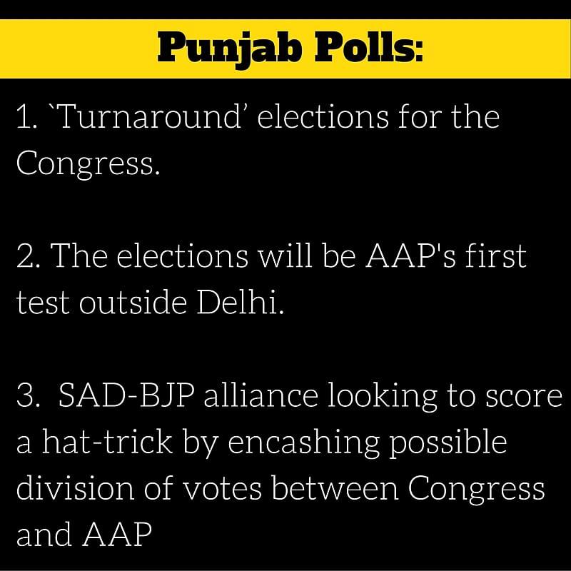 Punjab Polls: Kejriwal's Rally and Amarinder Singh's Leadership