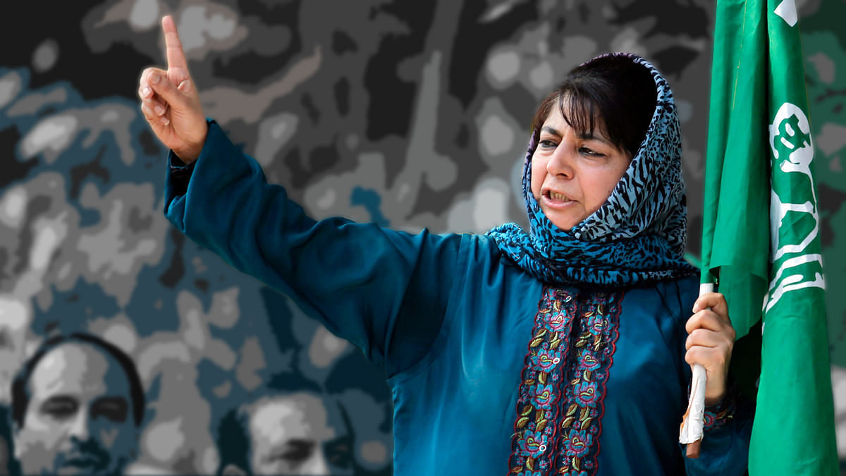 PDP president Mehbooba Mufti called on PM Narendra Modi and urged him de-escalate tension along the border. (Photo: Reuters)
