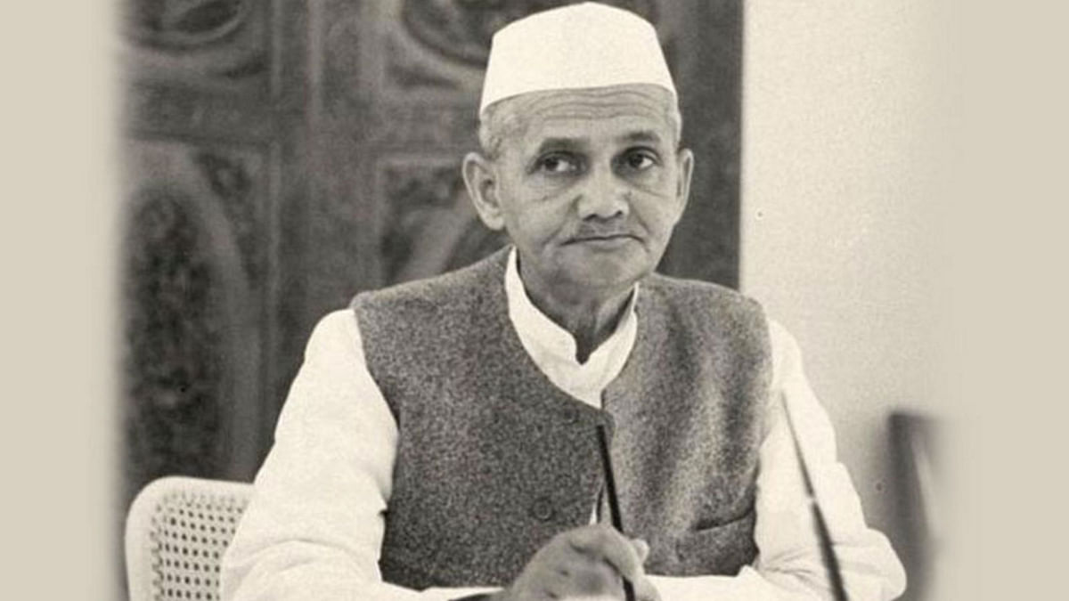 File photo of Lal Bahadur Shastri, former Prime Minister of India.