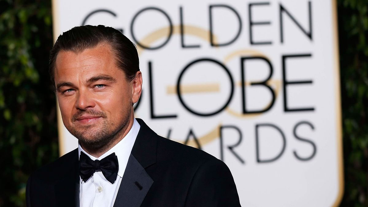 Actor Leonardo DiCaprio arrives at the 73rd Golden Globe Awards in Beverly Hills, California (Photo: Reuters)