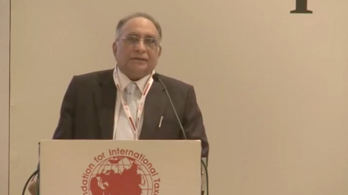 """Top legal luminary and former Supreme Court chief justice Sarosh Homi Kapadia passed away late on Monday (Photo: <a href=""""https://www.youtube.com/watch?v=JQusNDr4_4s"""">Youtube</a> Screengrab)"""