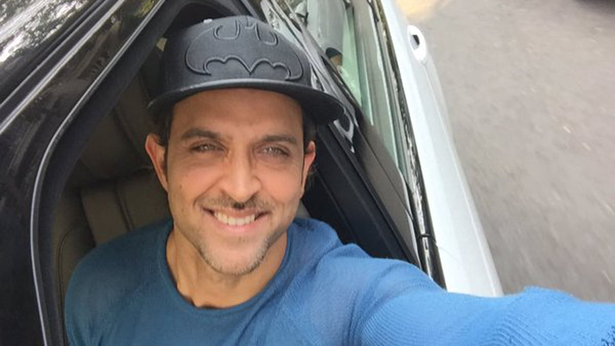 "Hrithik looks dapper in his birthday selfie. (Photo Courtesy: Twitter/<a href=""https://twitter.com/iHrithik/statuses/686112938860478464"">Hrithik Roshan</a>)"