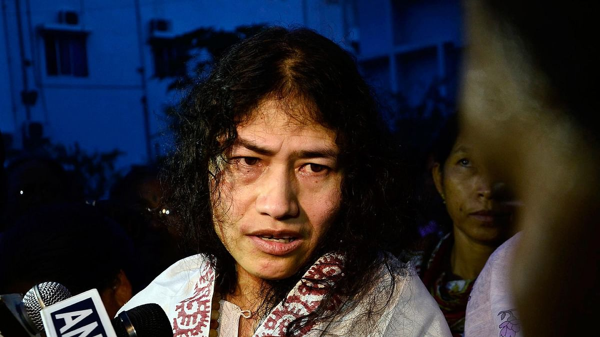 Irom Sharmila's political commitment has taken its toll on her relationship with her family. (Photo: reuters)