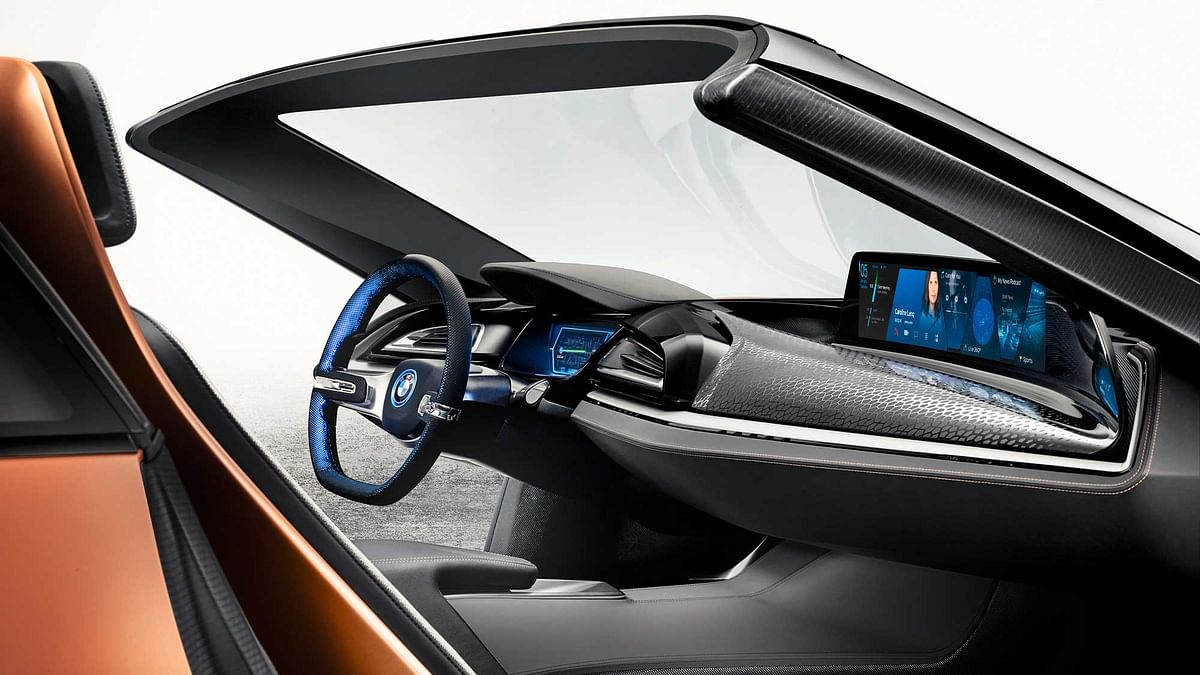BMW iVision Future Interaction. (Photo: BMW)