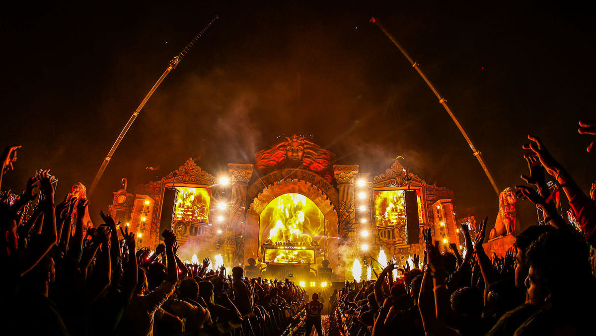 "The Sunburn festival in Goa is one its biggest attractions. (Photo Courtesy: <a href=""https://www.facebook.com/SunburnFestival/photos_stream"">Facebook/Sunburn</a>)"