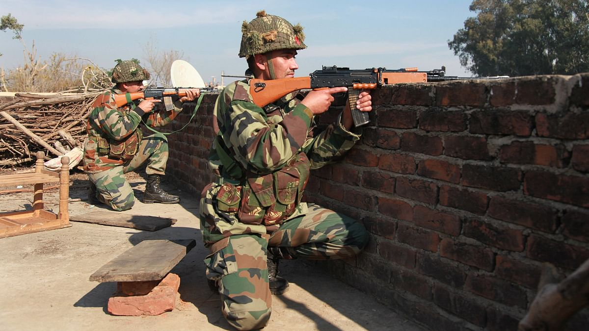 Indian Army is retaliating strongly and effectively. Representational image of indian Army personnel.