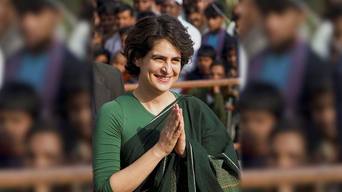 Priyanka Gandhi during an election campaign. (Photo: Reuters)