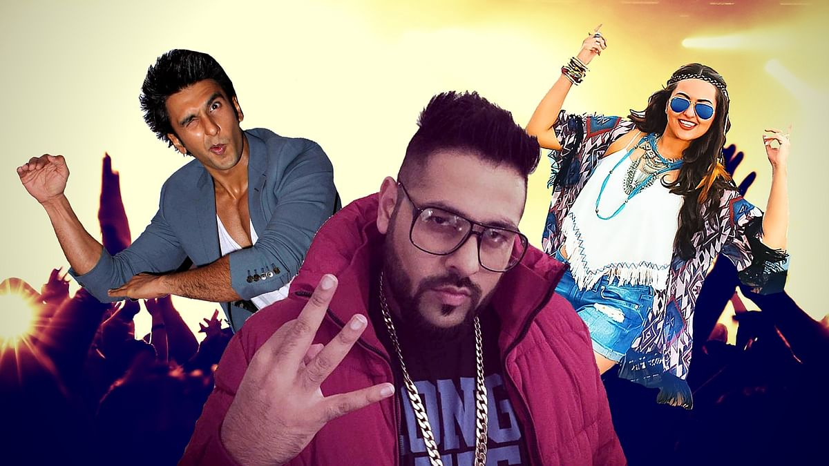 Ranveer, Parineeti and Sonakshi had a wild time backstage during Badshah's performance at Saifai Mahotsav in Etawah, UP