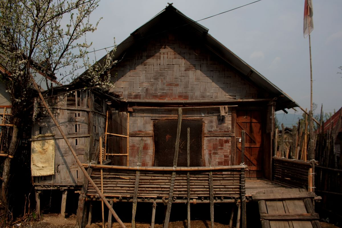 An Apatani house. The Apatanis are the indigenous people of the region. (Photo Courtesy: Kushal Chowdhury)