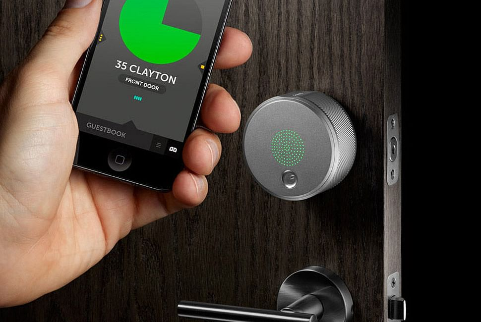 August smart lock that works with your phone. (Photo: August)