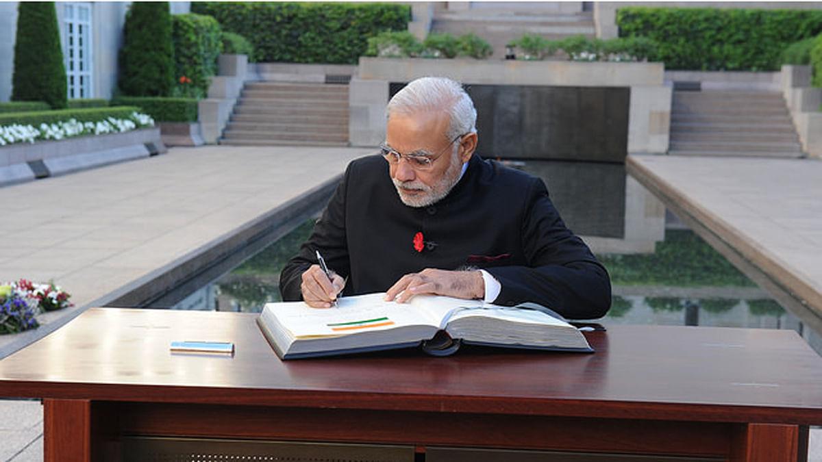 Prime Minsiter Narendra Modi. (Photo Courtesy: The News Minute)