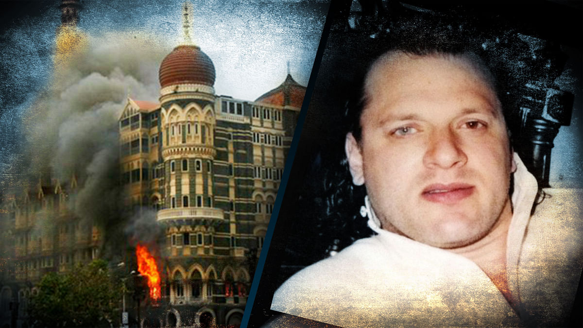 David Headley, an accused in the Mumbai 26/11 terrorist attack (Photo: This photo has been altered by<b> The Quint</b>)