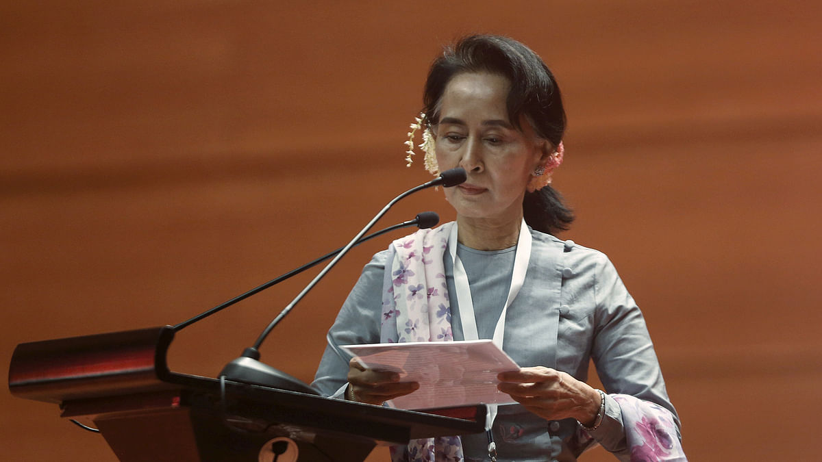 Oxford University Drops Aung San Suu Kyi's Name From Common Room