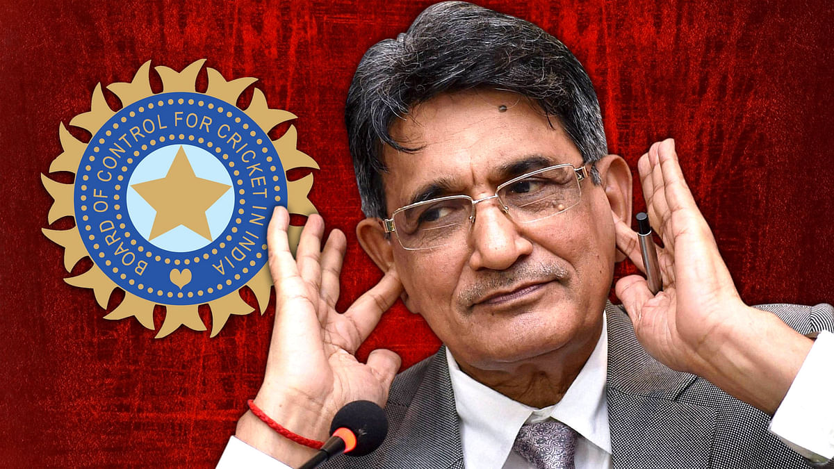 Justice R. M. Lodha, Chairman of the Supreme Court appointed Justice Lodha Committee, submitted the panel's report to the Supreme Court on Monday. (Photo: PTI)