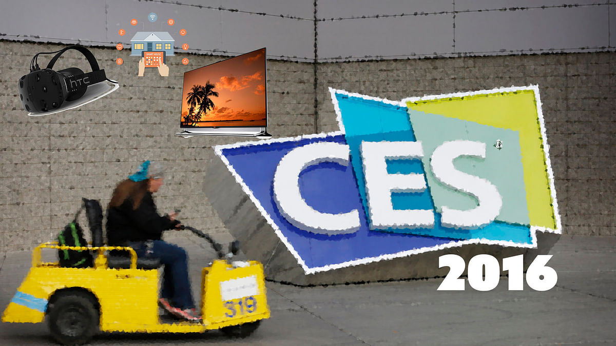It's gadget-y time at the CES 2016. (Photo: <b>The Quint</b>)
