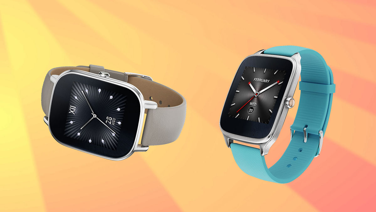 Asus Zenwatch 2. (Photo Courtesy: Asus)