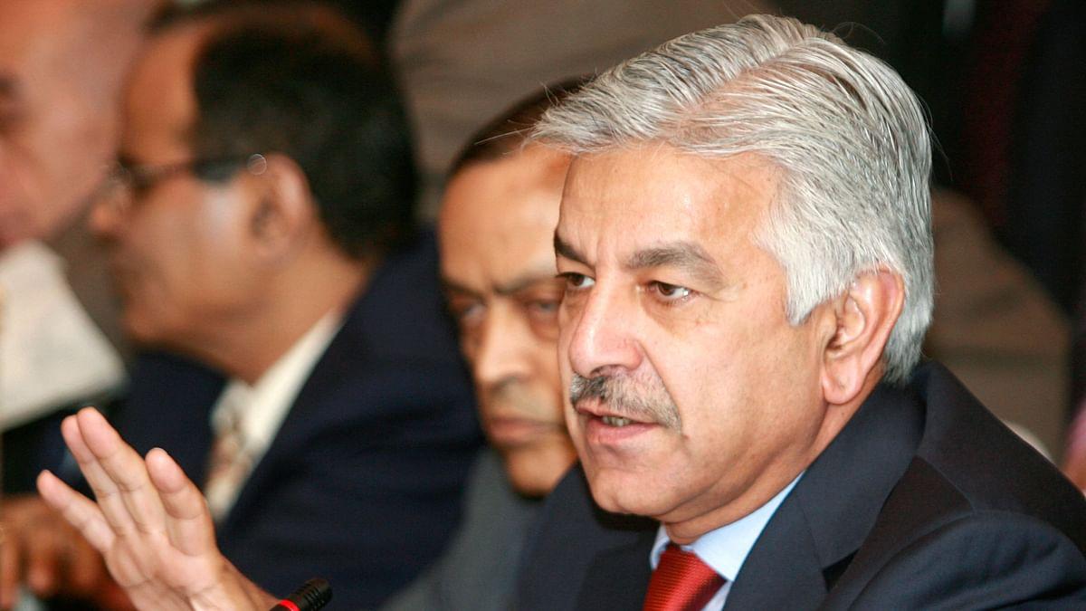 File image of Khawaja Muhammad Asif, Pakistan's defence minister. (Photo: Reuters)