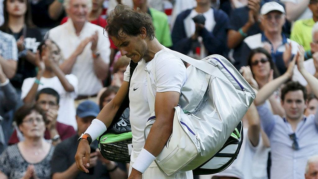 Dustin Brown was too powerful for Nadal. (Photo: Reuters)