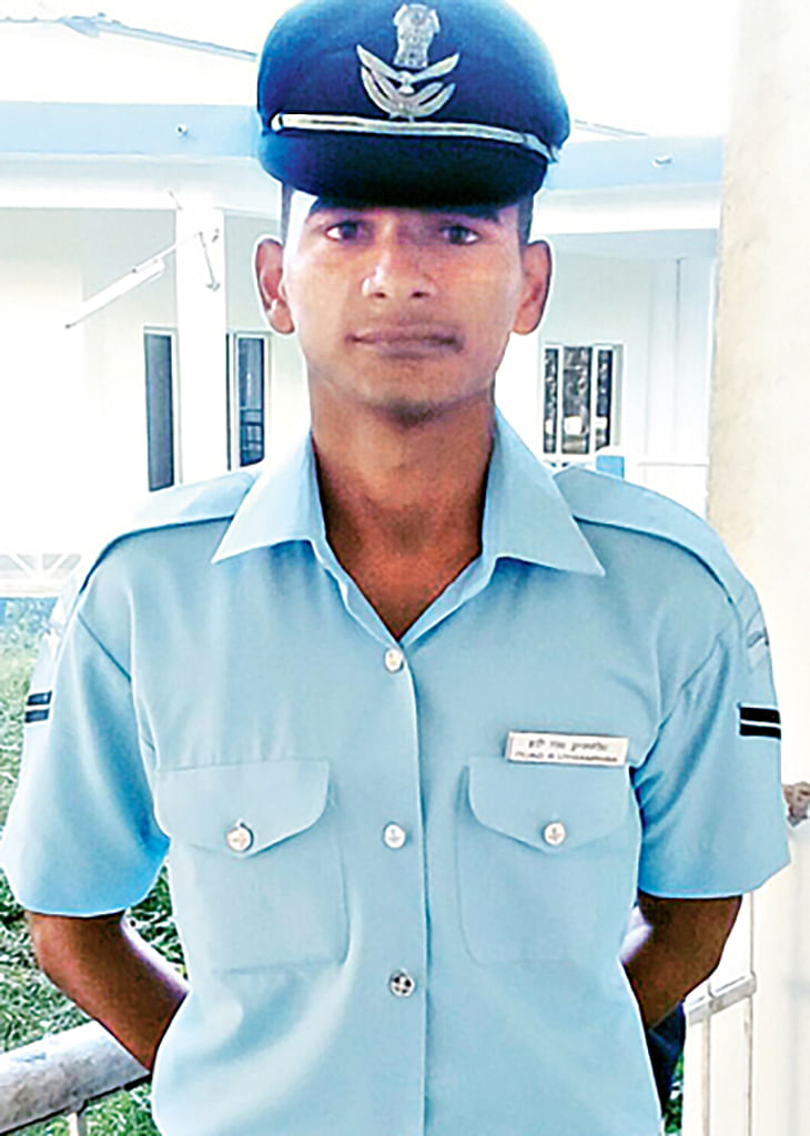 "Corporal Abhimanyu Gaud. (Photo: <a href=""http://www.telegraphindia.com/1160115/images/16soldier.jpg""><i>The Telegraph</i></a>)"