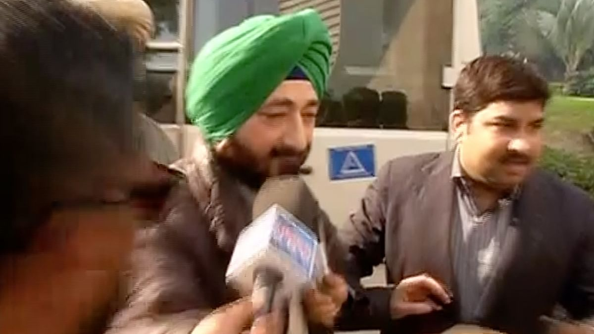 Gurdaspur SP Salwinder Singh was questioned as part of the investigation into the attack on the Pathankot air base . (Photo: ANI screengrab)