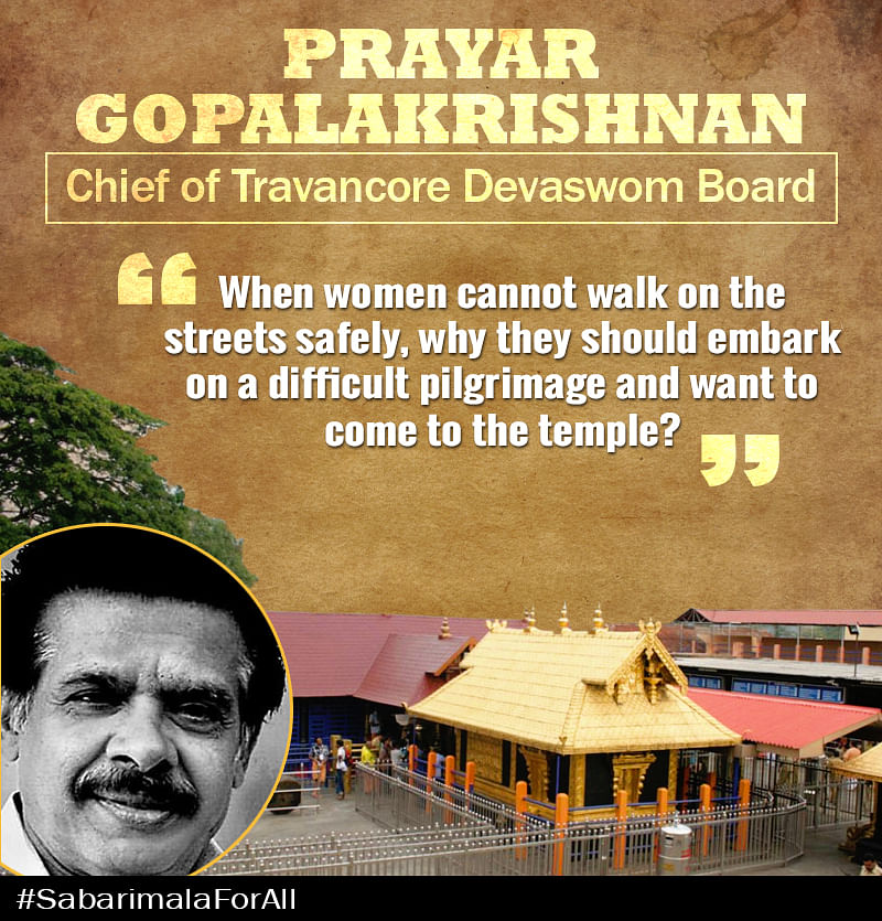 Open Letter to the Man Who Doesn't Want Women to Enter Sabarimala