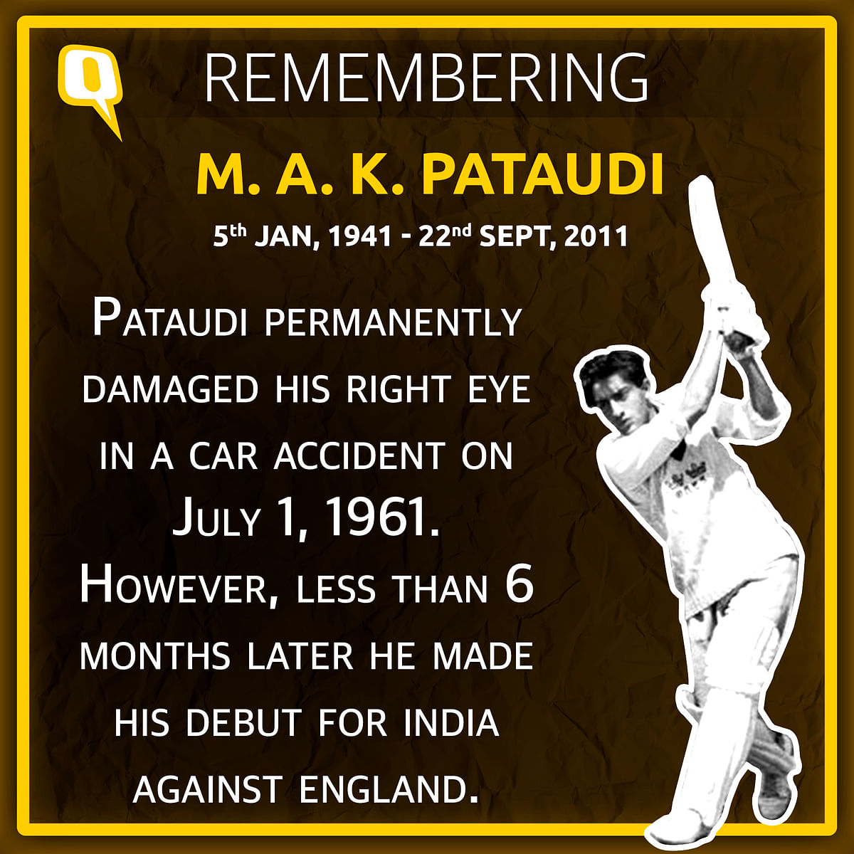 Little-Known Facts About MAK Pataudi on His 80th Birth Anniversary