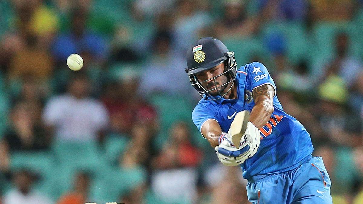 Manish Pandey scored an ODI century against Australia in Sydney in 2017.