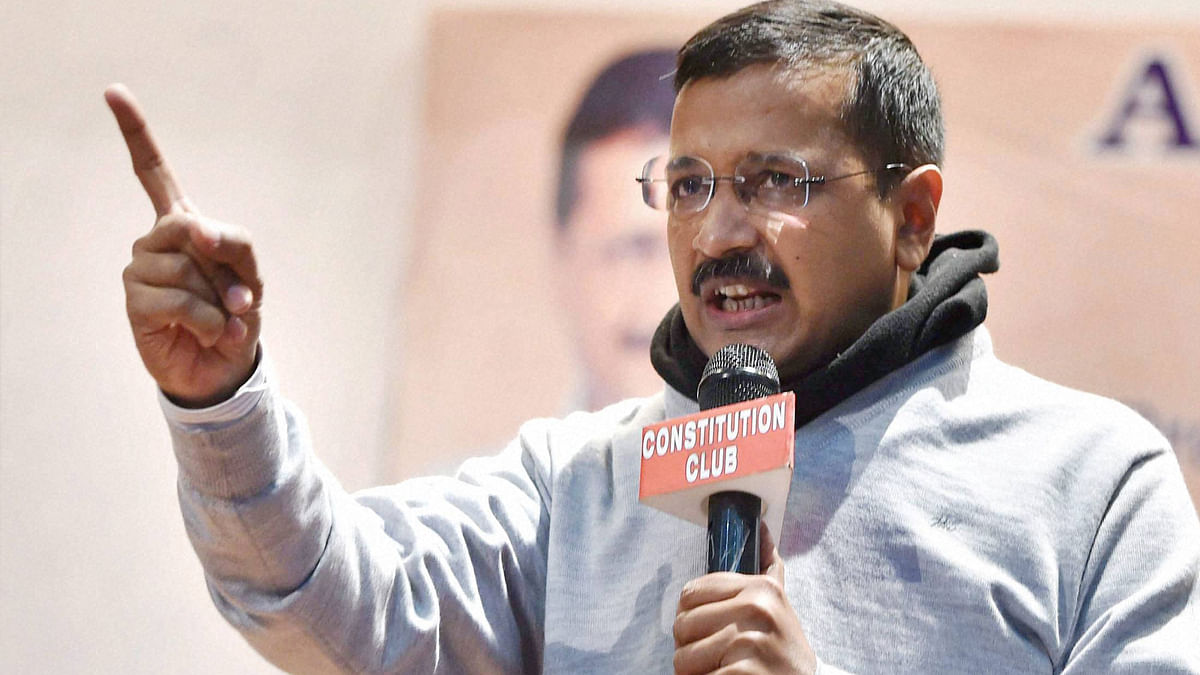 File photo of Arvind Kejriwal, Chief Minister of New Delhi. (Photo: Reuters)