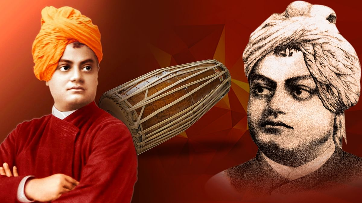 Vivekananda was an accomplished singer in Dhrupad and a much sought after Pakhawaj player.