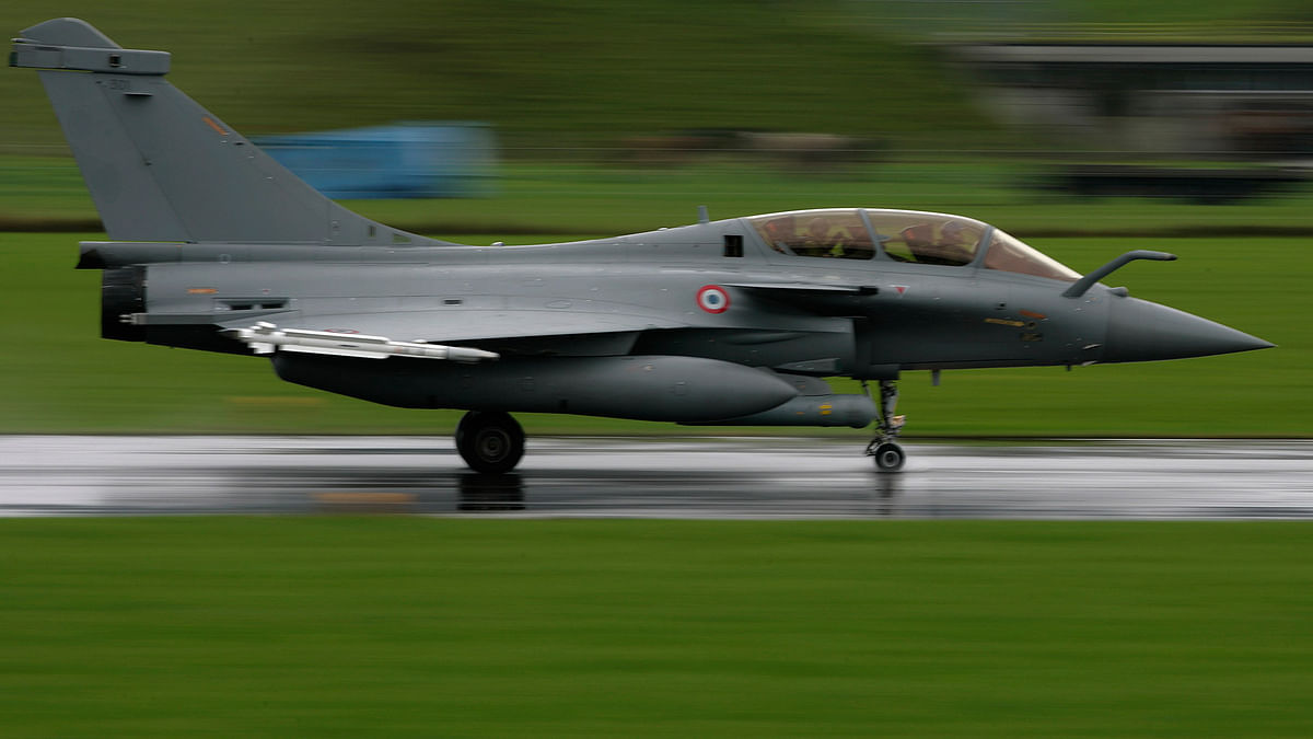 File image of a French Dassault Rafale fighter plane.