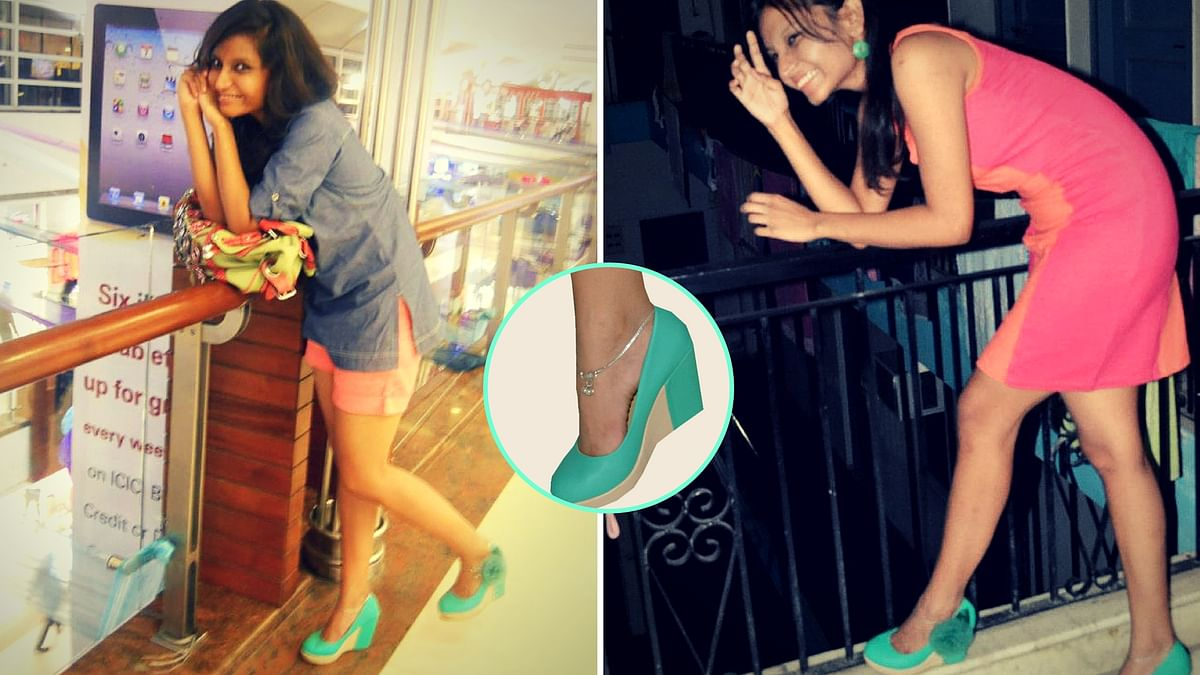 A pair of green shoes can be dressed up whichever way you like!